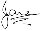 Jane Armitage Signature