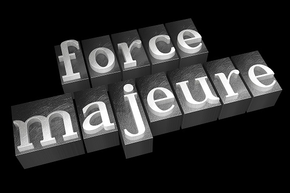 Contractual obligations – Force Majeure