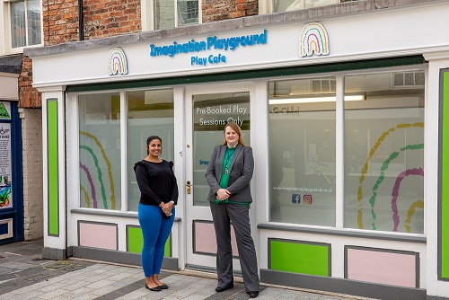 Play cafe opens in Stockton town centre