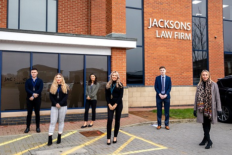 Job creation at Jacksons Law Firm following apprentice success