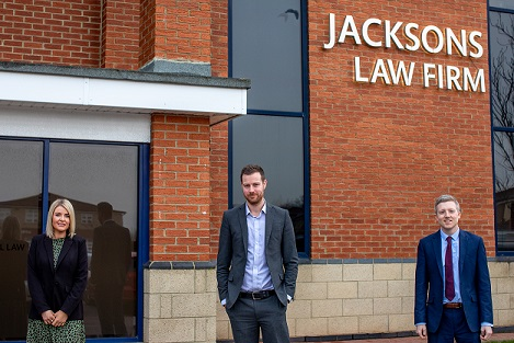 Jacksons appoint legal experts as demand for new home sales increase