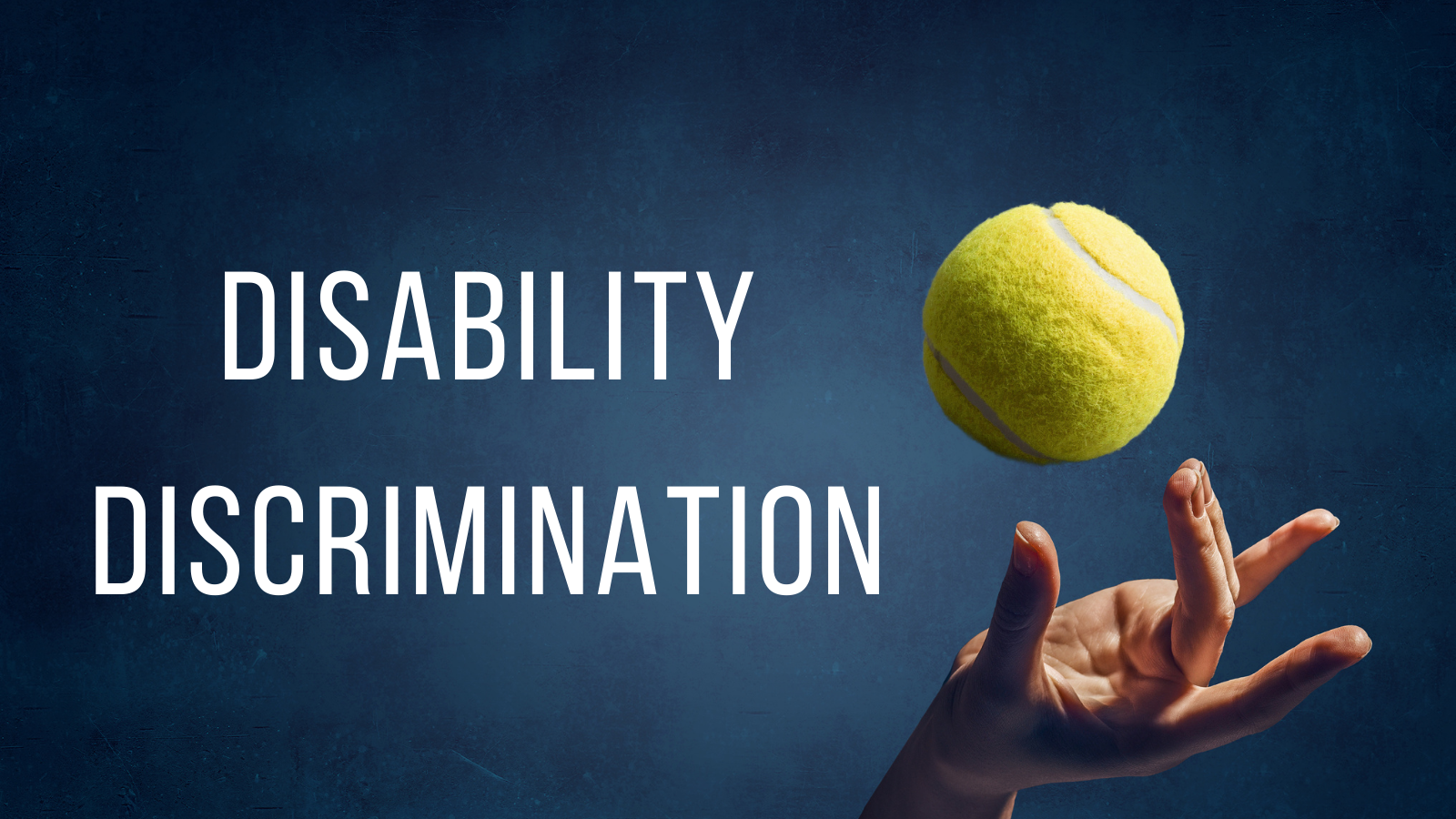 Naomi Osaka – The case of Disability Discrimination