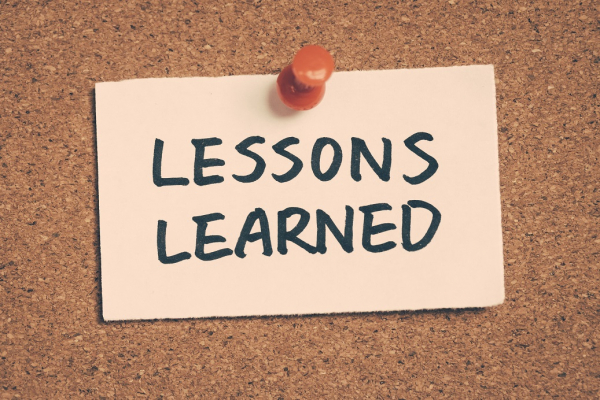 Lessons Learned – Relaxing of Restrictions
