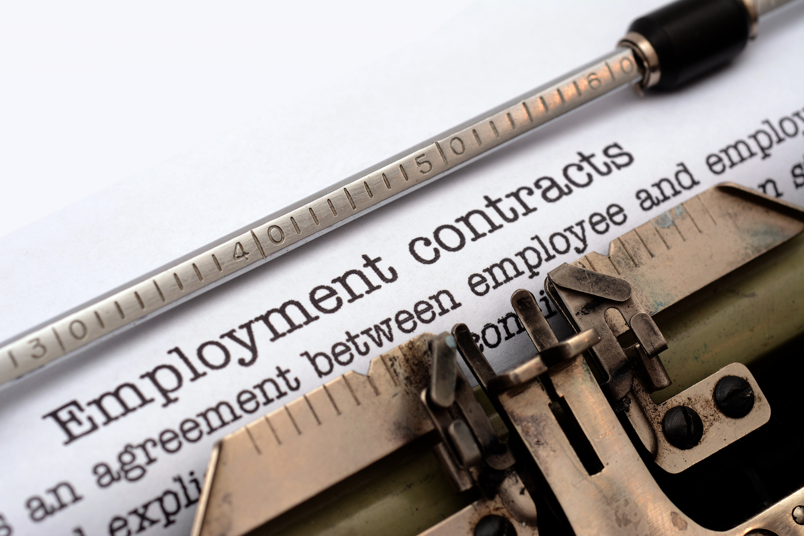 Changing terms and conditions in employment contracts